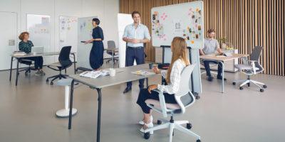 Se:motion net : le fauteuil de bureau ergonomique, vecteur d'agilité