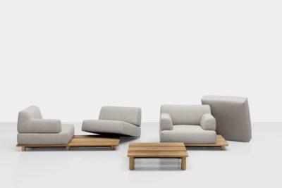 PALCO, le canapé outdoor modulable et tendance de Kristalia