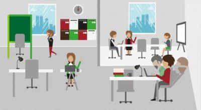 Aménagement : le bureau post-Covid plus flexible et plus agile !