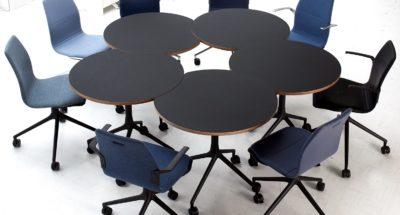 AS, le nouveau système de réunion modulable et flexible d'Howe